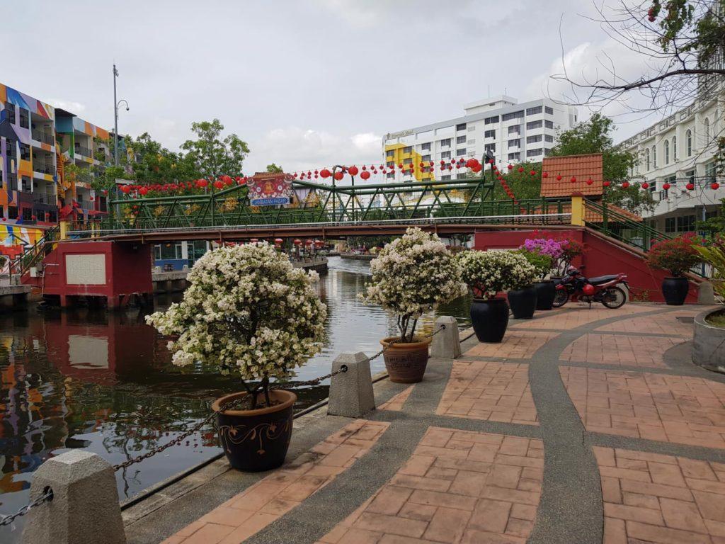 Blick auf Kanal Malakka