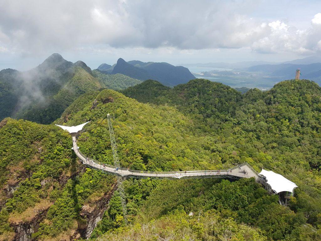 Blick auf Sky Walk Langkawi